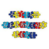 autism learning felt logo