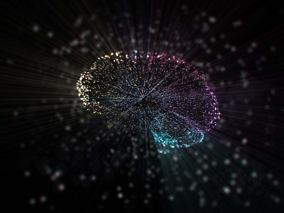 brain circuitry concept illustration