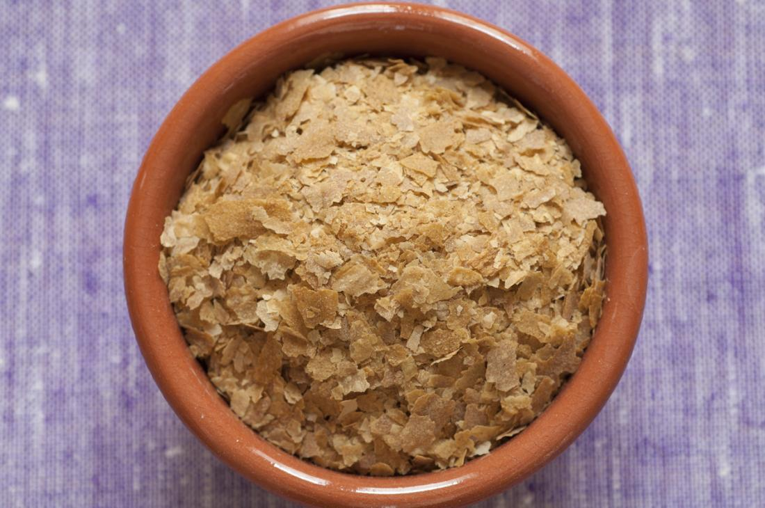 Nutritional yeast in a bowl