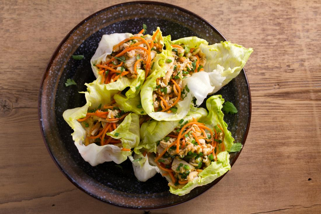 Bread alternatives lettuce wraps