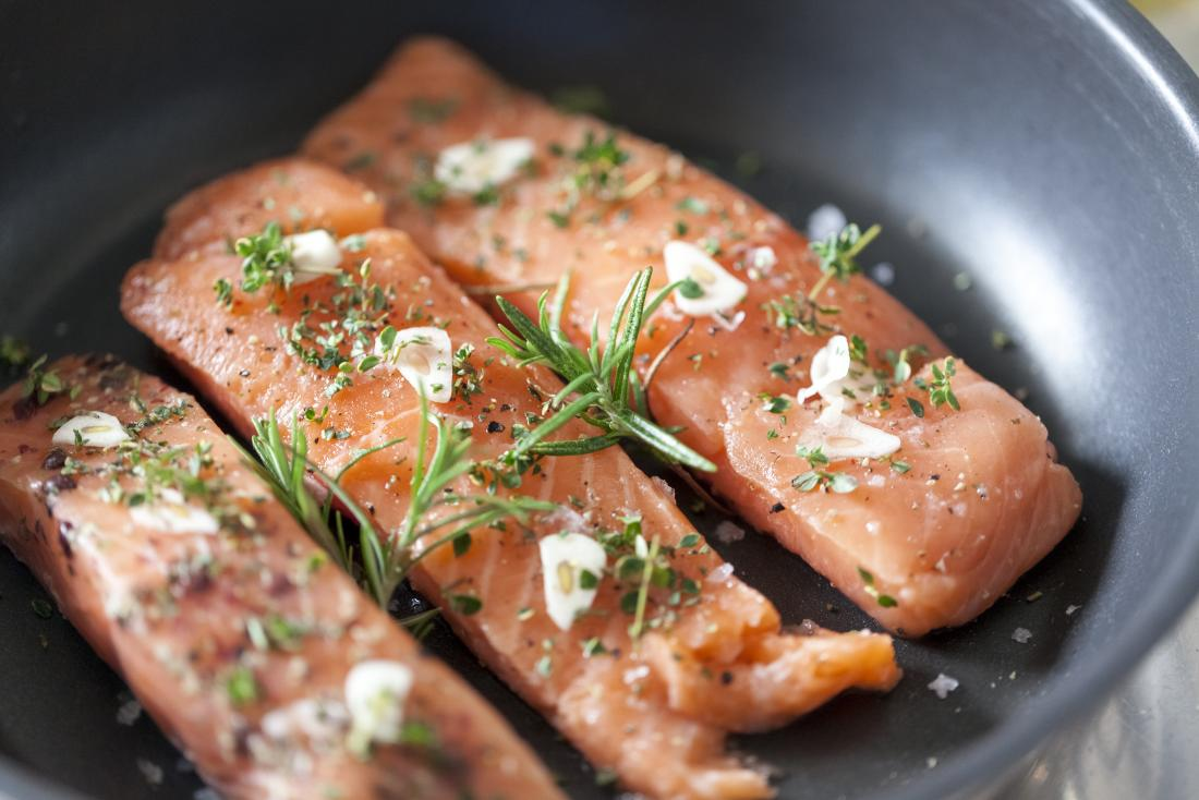 Energy boosting foods salmon
