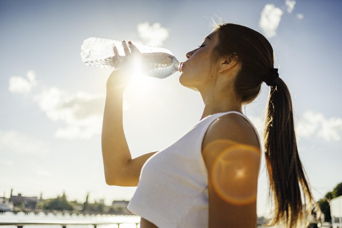 Energy boosting foods water