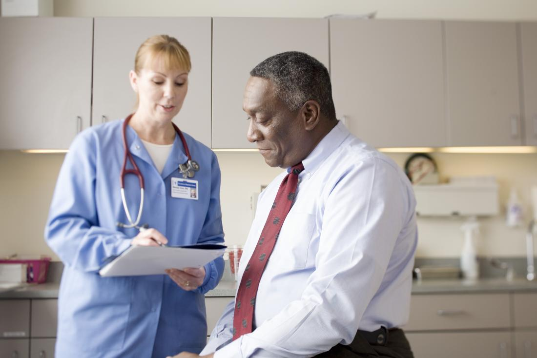 Anyone experiencing the symptoms of COPD should see a doctor.