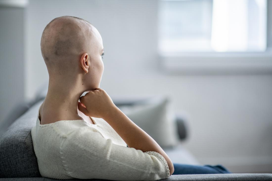 Hair loss is a common side effect of chemotherapy, but it can grow back.