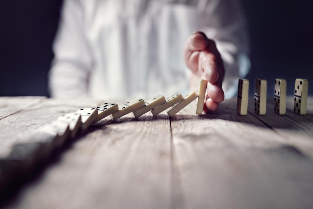 Addiction domino effect