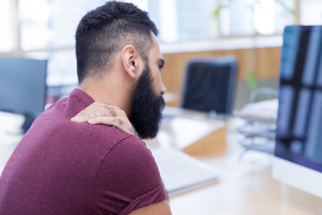 Pinched nerve in shoulder