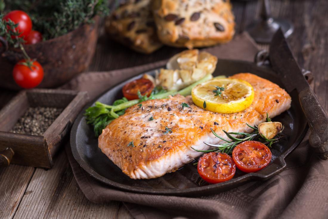 Pescatarian diet salmon