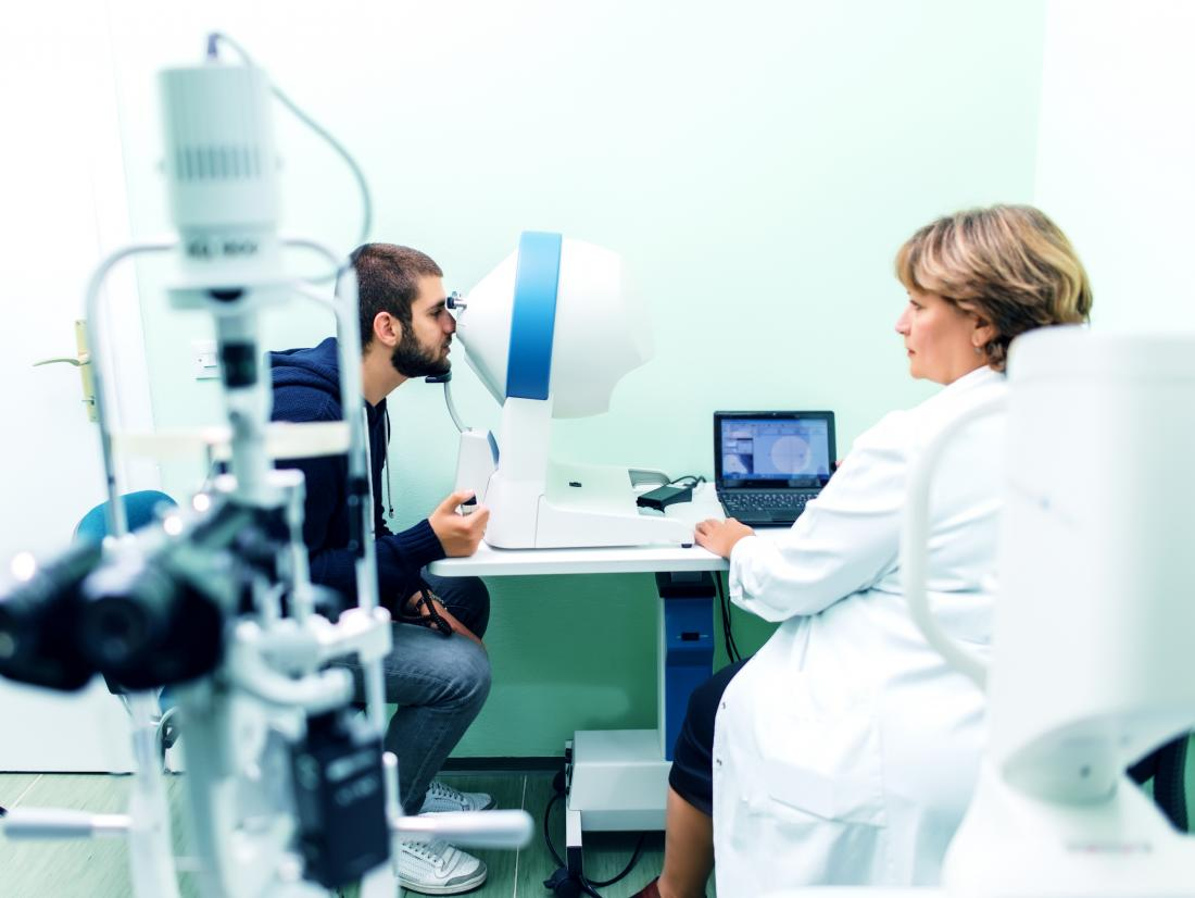 Slit lamp exam can detect a range of eye issues