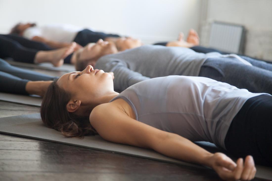 Yoga for erectile dysfunction The Shavasana pose