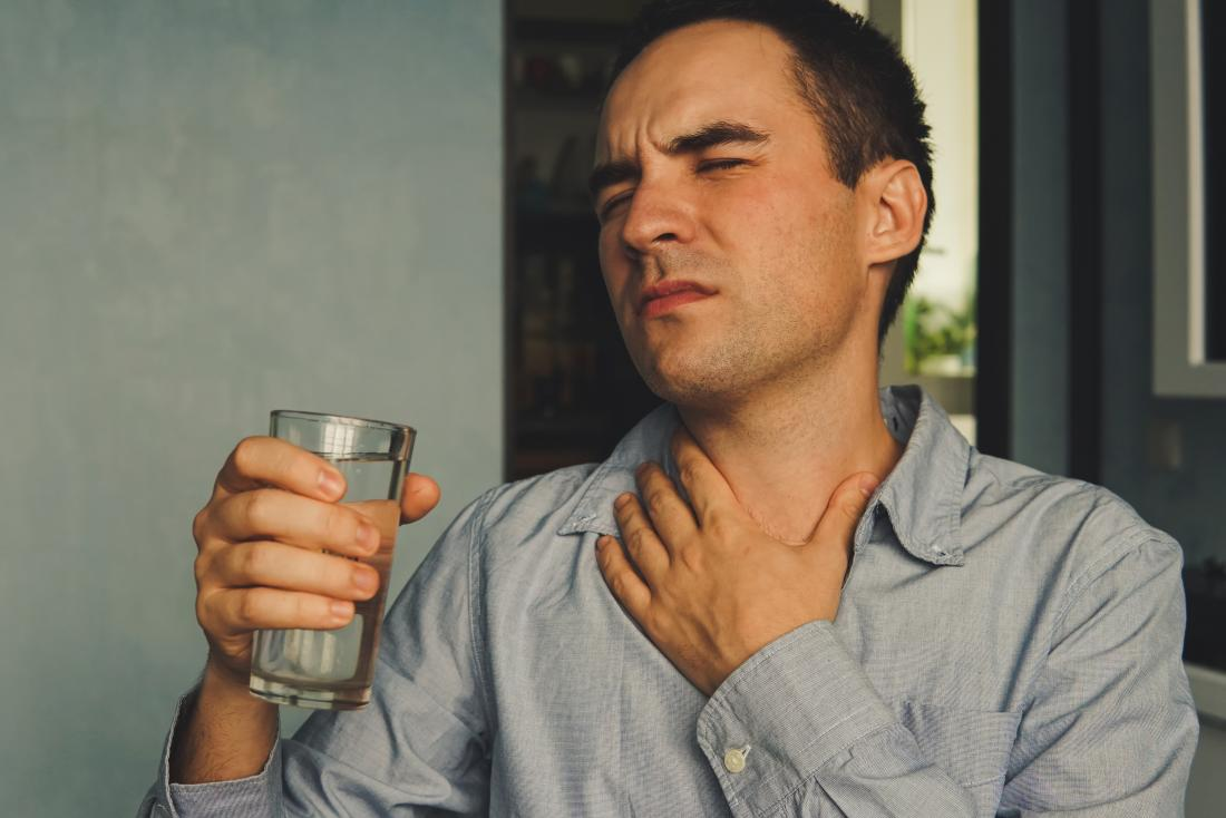 Pain in ear and throat when swallowing
