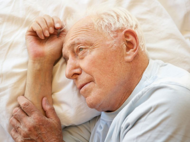News Picture: After a Spouse's Death, Sleep Woes Up Health Risks