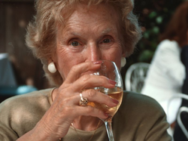 News Picture: As You Age, Alcohol May Be Harder to Handle