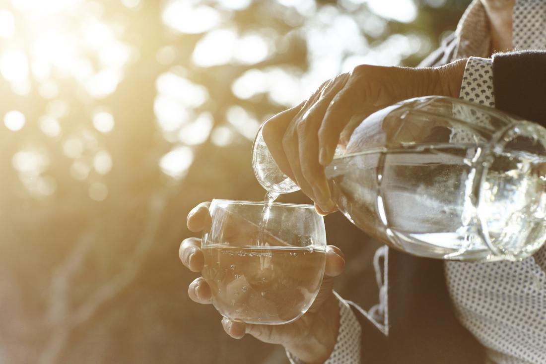 drinking water jug