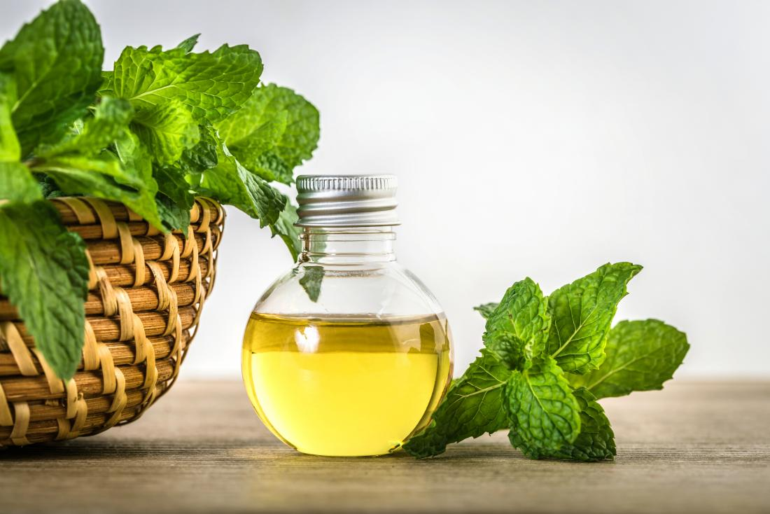 menthol peppermint essential oil