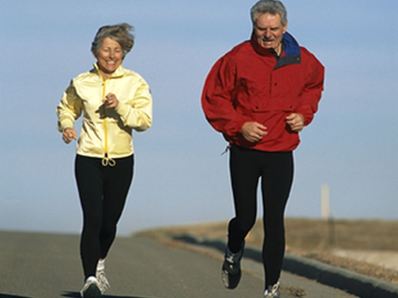 News Picture: Break a Sweat Over the Holidays, but Do It Safely