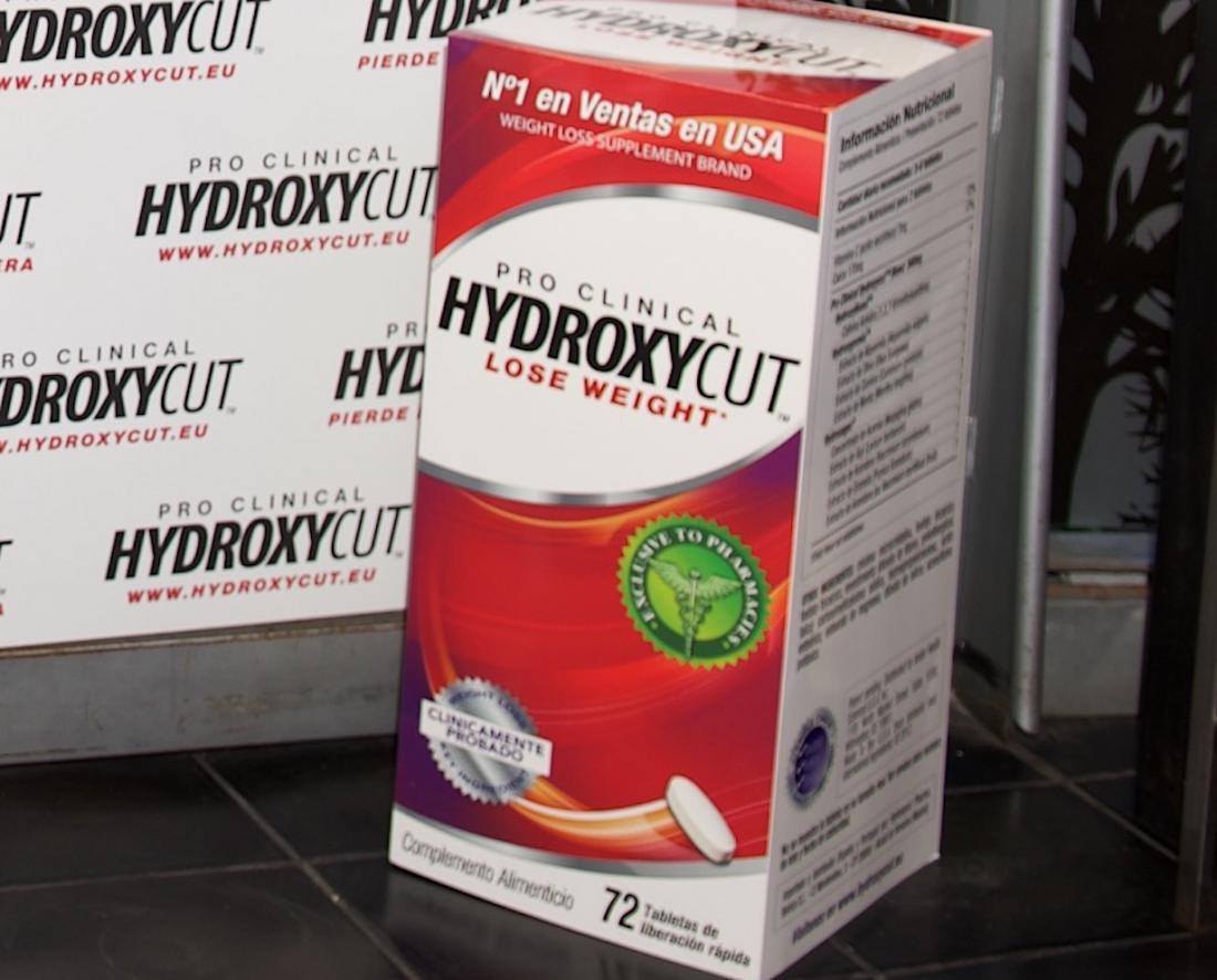 Hydroxycut supplement box