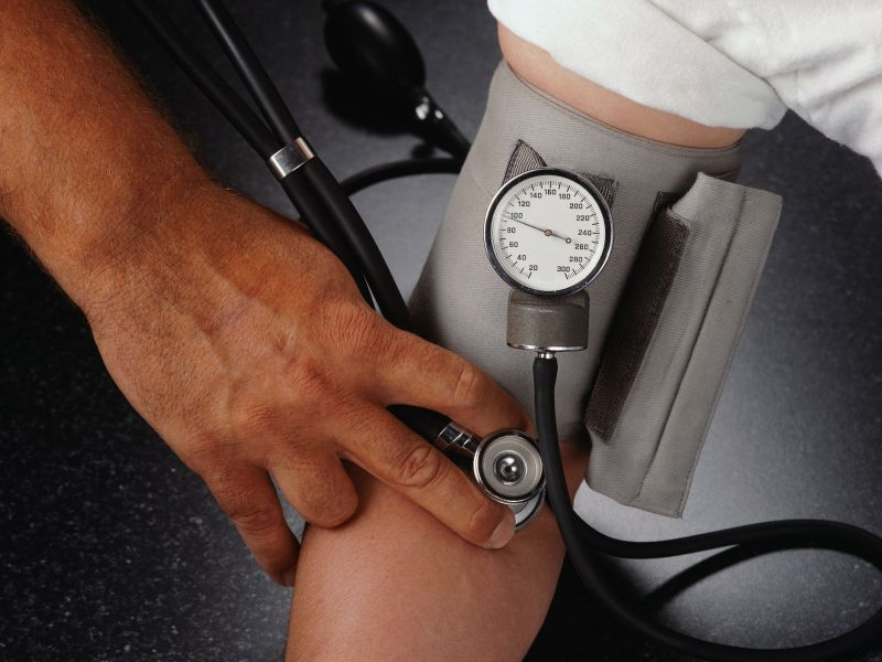 News Picture: Even Slight Rise in Blood Pressure Might Shrink Young Brains
