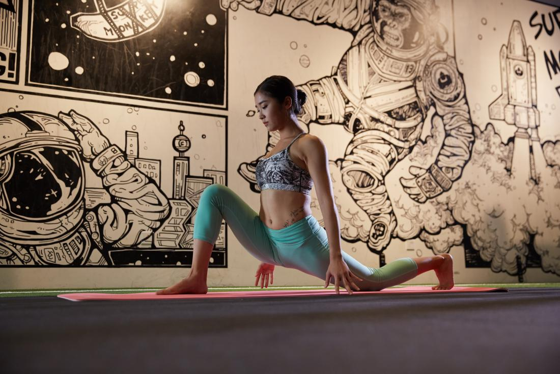 woman doing light exercise