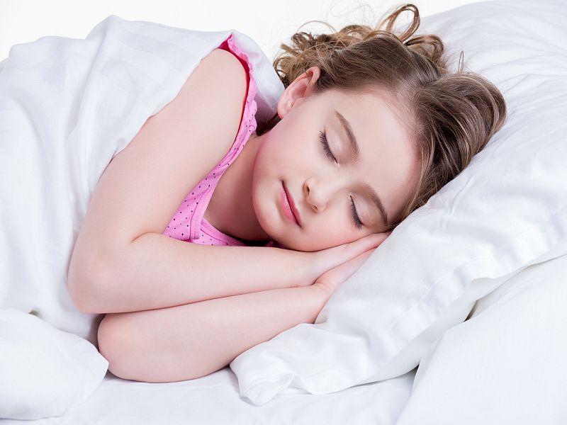 News Picture: Good Sleep Helps Kids Become Slimmer, Healthier Teens: Study