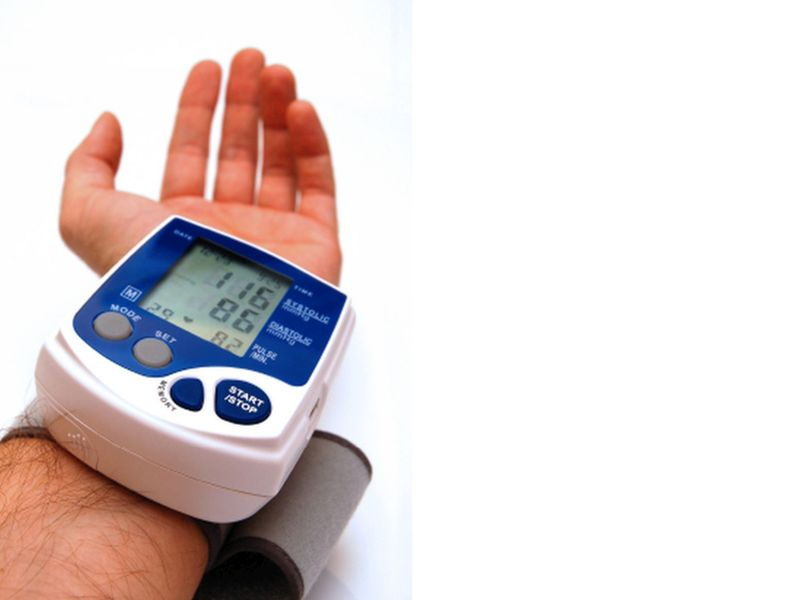 News Picture: High Blood Pressure in Young Adults Tied to Earlier Strokes