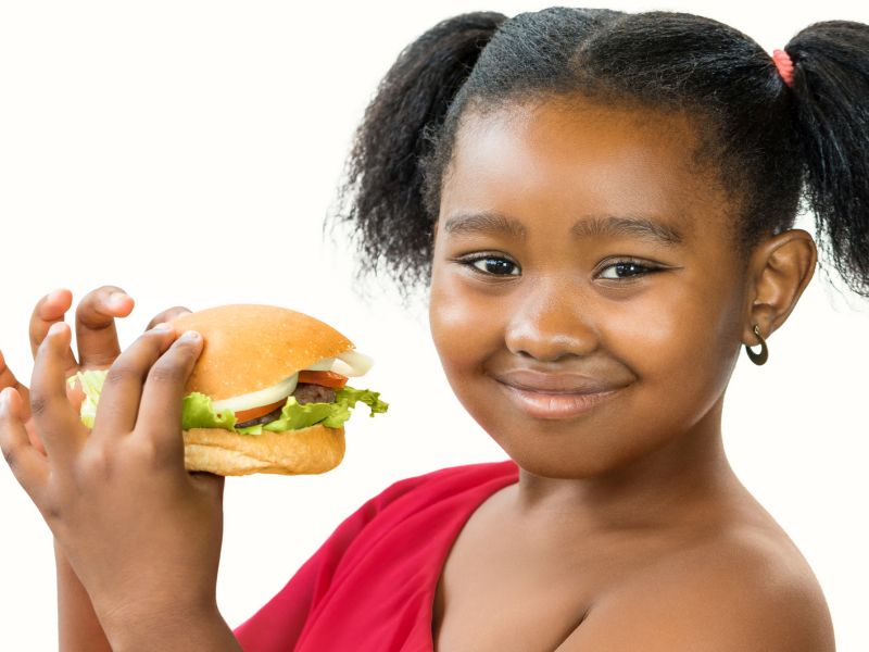 News Picture: Junk Food Ads Target Minority Kids: Study