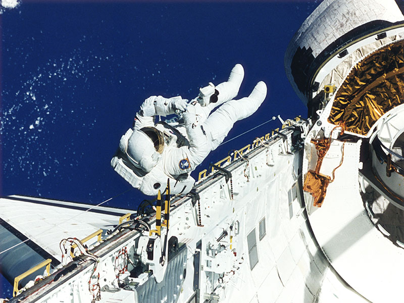 News Picture: Life in Space May Take Toll on Spinal Muscles