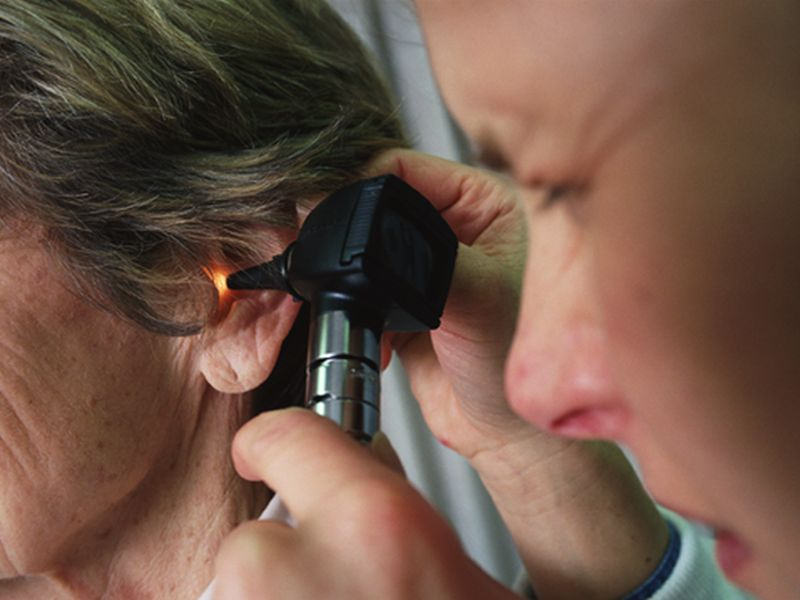 News Picture: Listen Up! Hearing Loss Tied to Late-Life Depression
