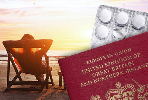 25 Ways to Stay Well Abroad in Pictures