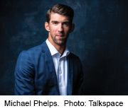 News Picture: Michael Phelps Champions the Fight Against Depression