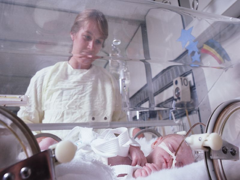 News Picture: Opioids Exact Another Toll on Newborns: Smaller Heads