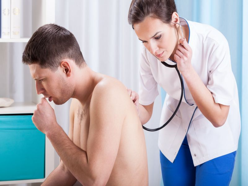 News Picture: Persistent Cough May Mean See Your Doctor