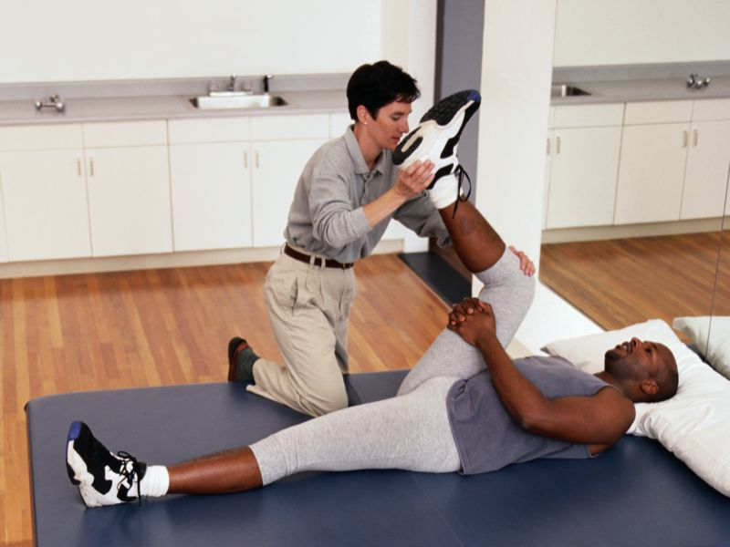 News Picture: Physical Therapy Can Keep Sports Injuries at Bay
