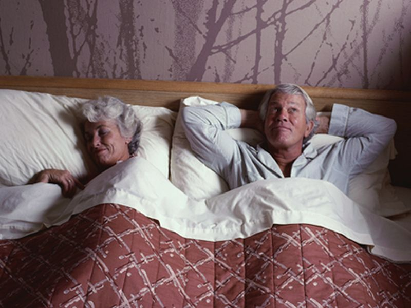 News Picture: Sleep Patterns May Offer Clues to Alzheimer's