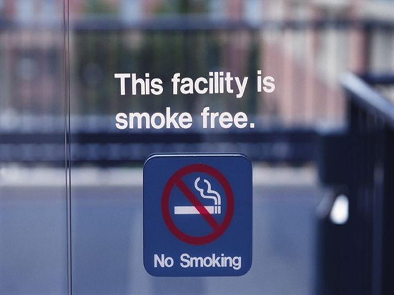 News Picture: Smoking Bans Might Help Nonsmokers' Blood Pressure