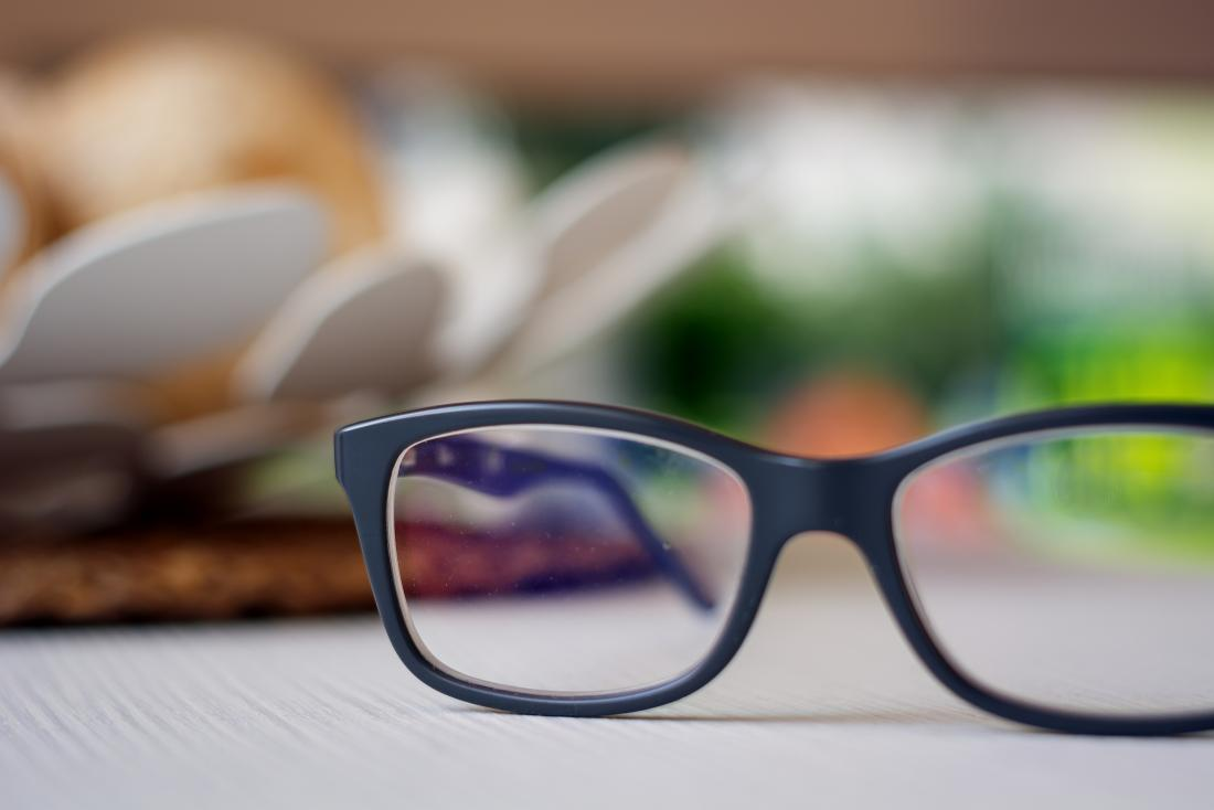 Wearing glasses instead of contact lenses can help a chalazion heal.