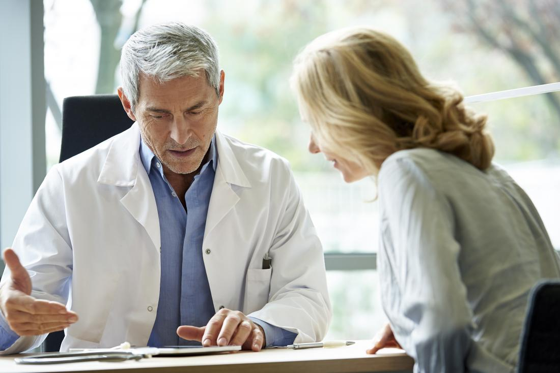 A doctor can explain the results of an ALT test in detail.