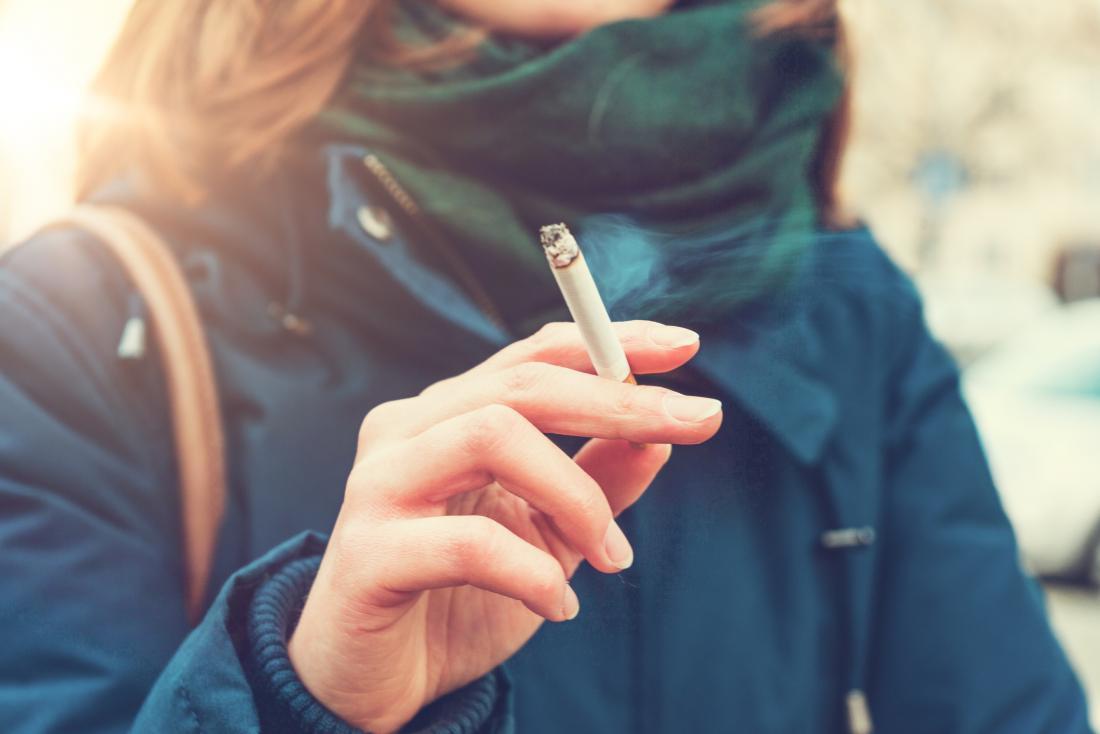 Smoking can trigger psoriasis flares.