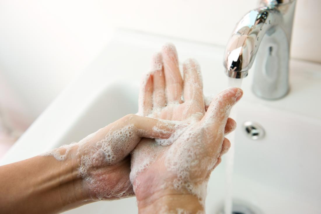 Washing hands frequently can help prevent the spread of impetigo.