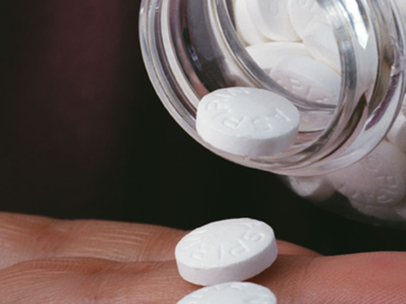 News Picture: Will Healthy Seniors Benefit From Daily Aspirin?