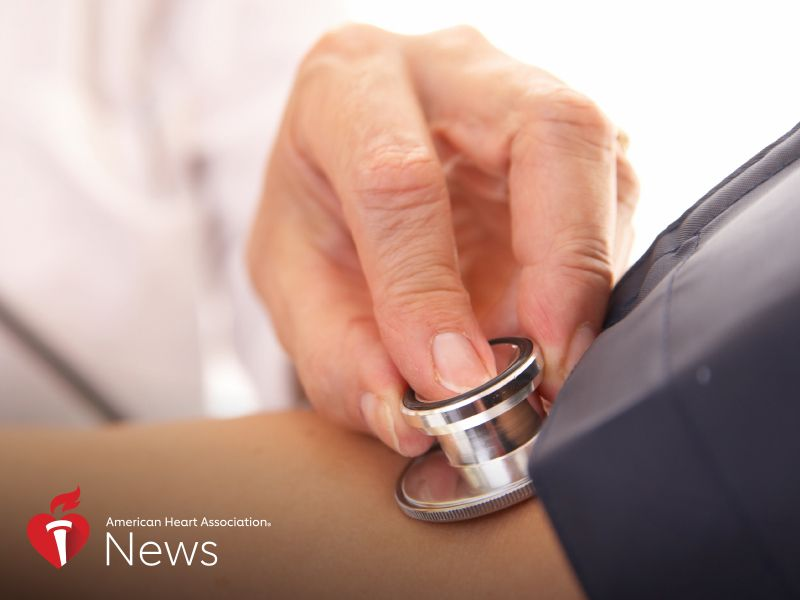 News Picture: AHA News: High Blood Pressure Top Risk Factor for Stroke in Young Adults