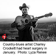 News Picture: AHA News: Up-and-Coming Texas Singer Lucky to Be Alive and Still Singing the Blues