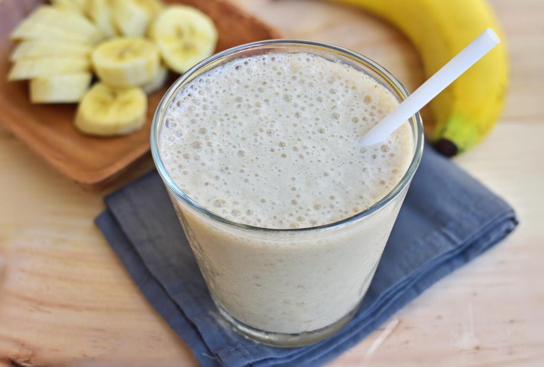 A banana smoothie