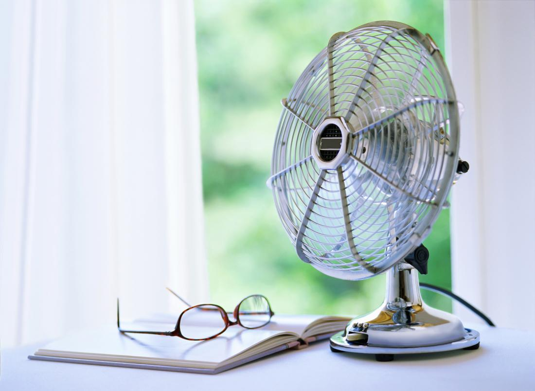 night fan can help menopausal hot flashes, night sweats