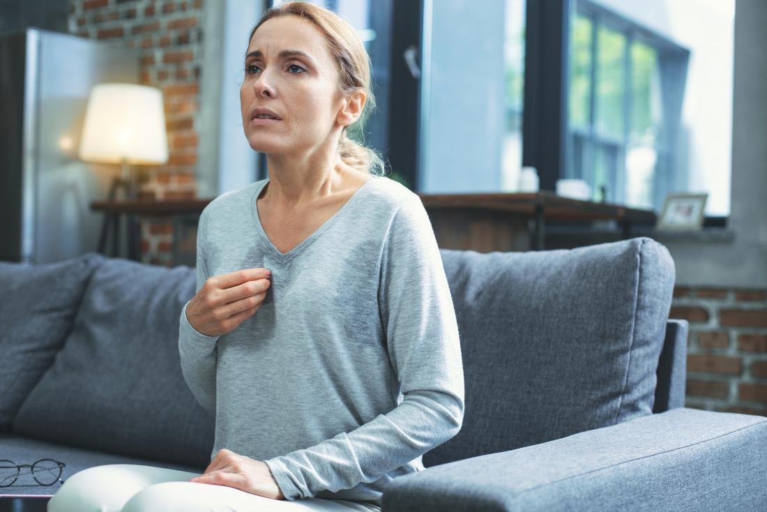 menopausal hot flashes, night sweats