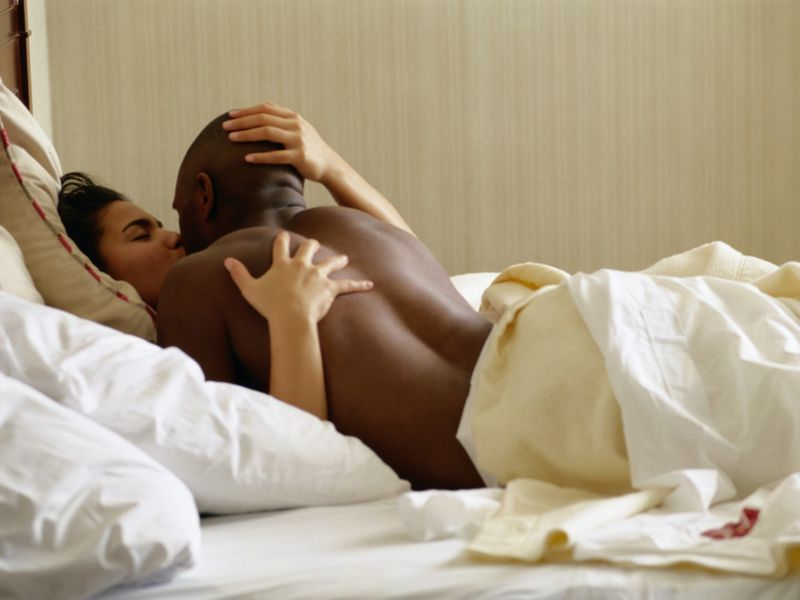 News Picture: Cutting Calories Can Boost Your Sex Life and Your Sleep
