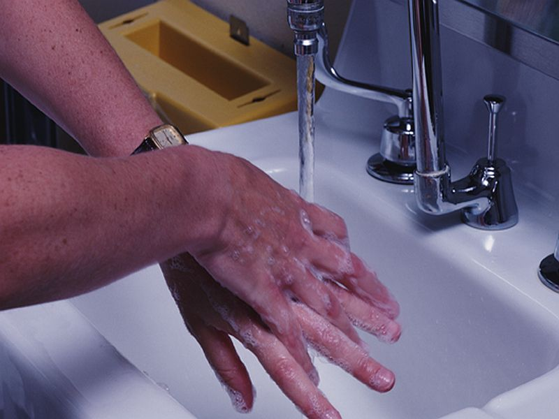 News Picture: Dangerous Bacteria May Lurk in Hospital Sinks