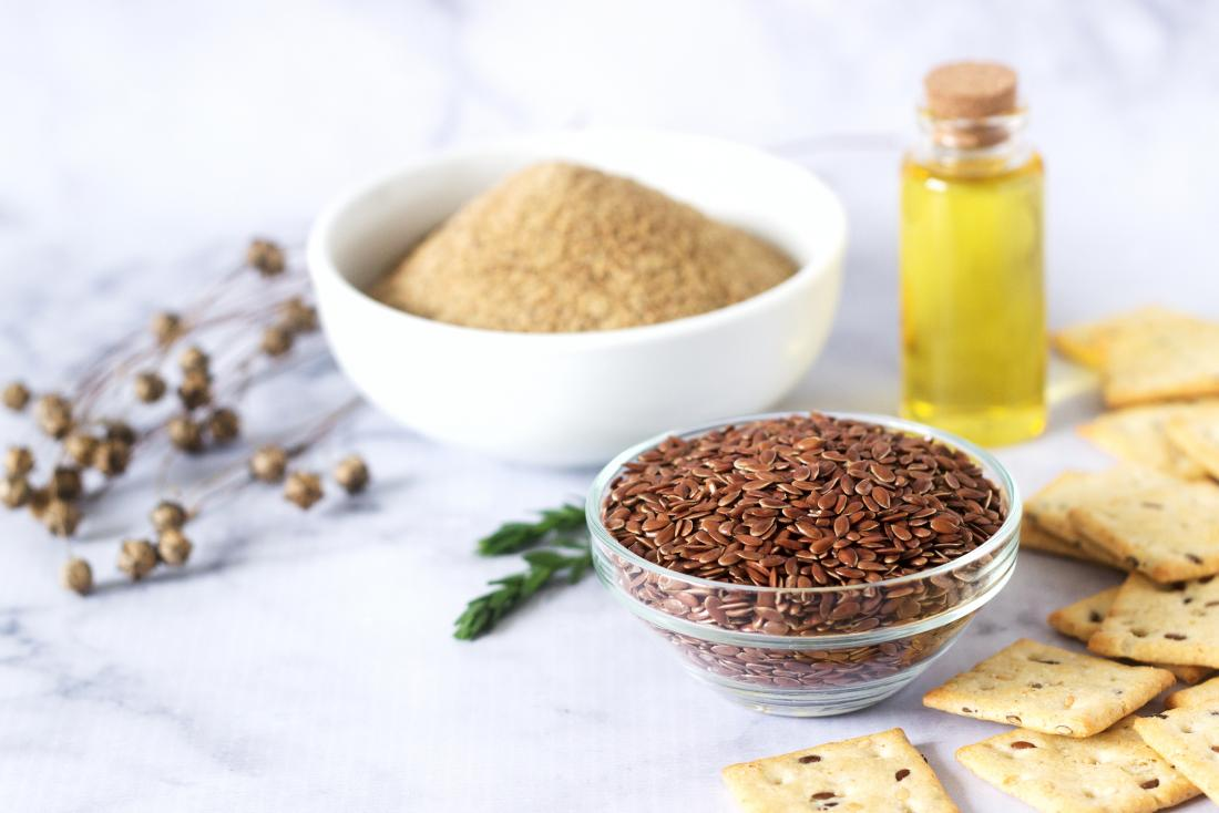 flaxseed and flaxseed products