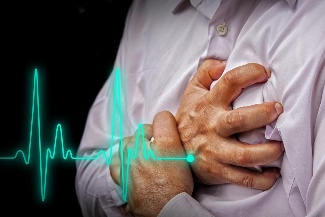 High blood pressure raises the risk of a number of health problems, including a heart attack.