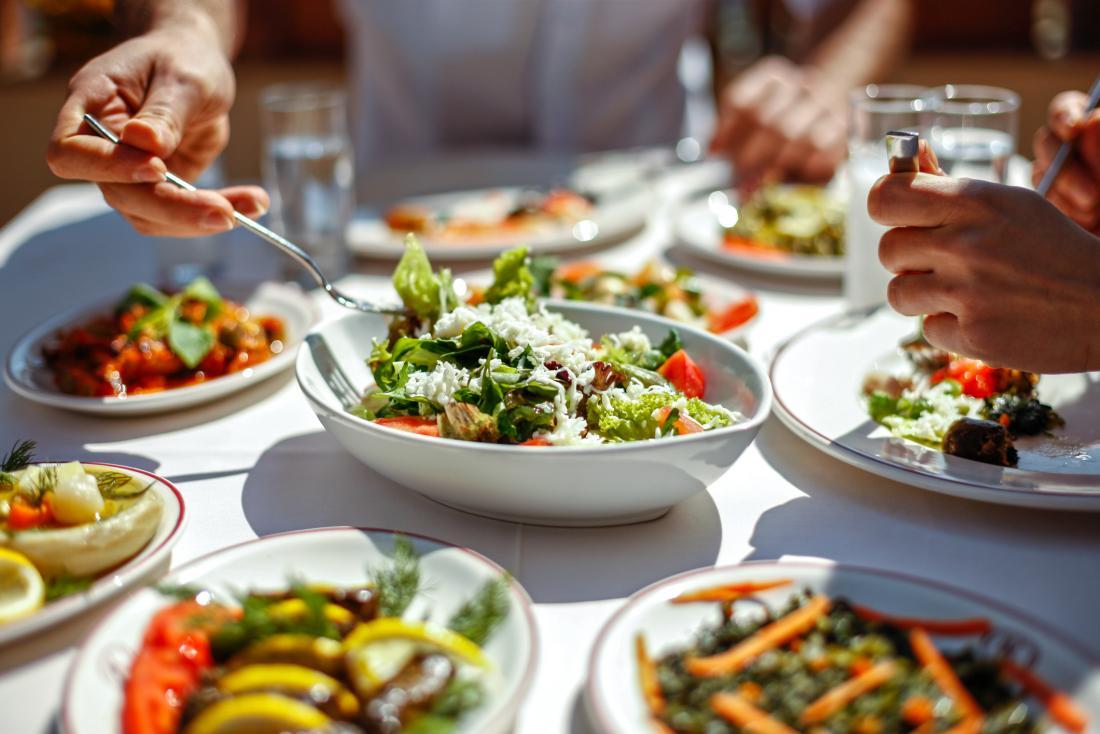 Health meal together