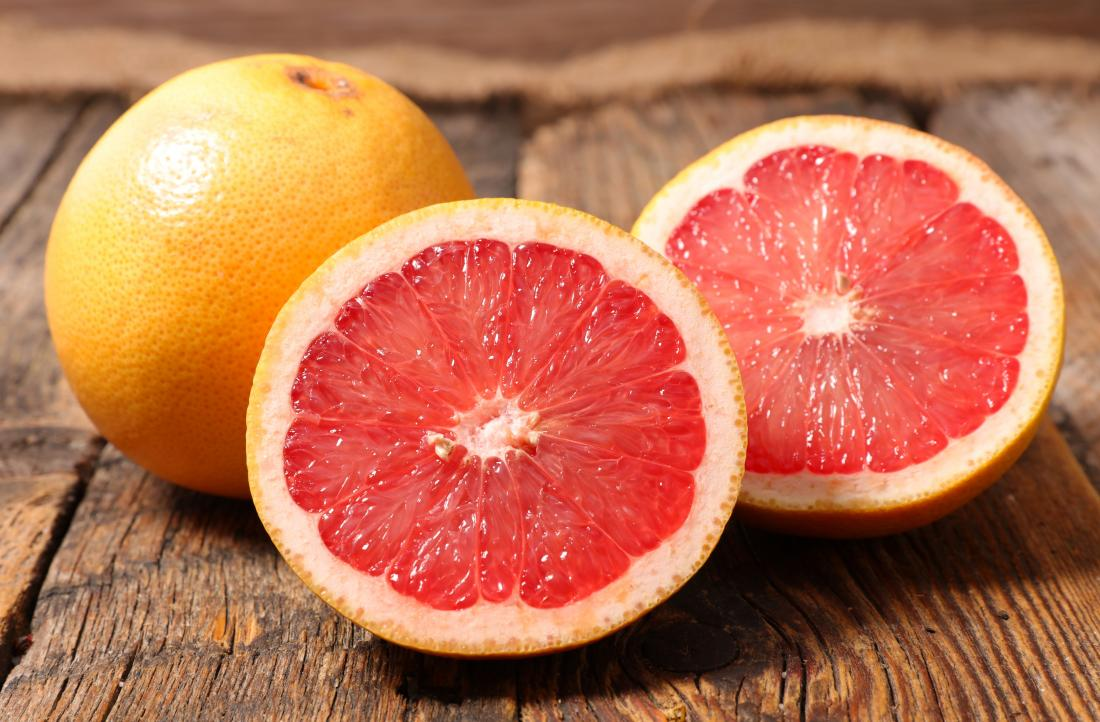 Healthiest fruits grapefruit